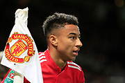 Manchester United midfielder Jesse Lingard (14) during the EFL Cup match between Manchester United and Burton Albion at Old Trafford, Manchester, England on 19 September 2017. Photo by Richard Holmes.