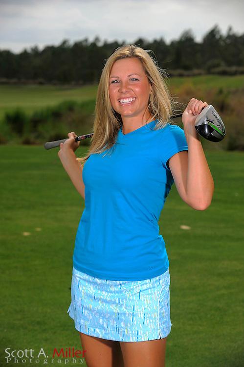 March 31, 2009, Daytona Beach, Fla:  Sara Brown of the Duramed Futures Tour Performance Team during a portrait session at LPGA International...© 2009 Scott A. Miller