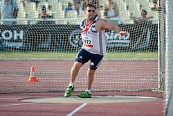 GREAVES Dan, GBR, Discus, F44, 2013 IPC Athletics World Championships, Lyon, France