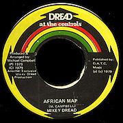 Reggae Record Single 45 Label