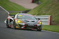 Black Bull Garage 59 #100 McLaren 570S GT4 Sandy Mitchell/Ciaran Haggerty GT4 Silver  during British GT Championship as part of the BRDC British F3/GT Championship Meeting at Oulton Park, Little Budworth, Cheshire, United Kingdom. April 14 2017. World Copyright Peter Taylor/PSP.