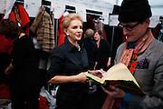 NEW YORK, NY - FEBRUARY 14:  Designer Carolina Herrera  attends the Carolina Herrera Fall 2011 fashion show during Mercedes-Benz Fashion Week at The Theatre at Lincoln Center on February 14, 2011 in New York City.  (Photo by Joe Kohen/WireImage) *** Local Caption *** Carolina Herrera