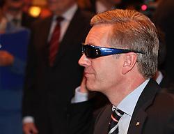 01.02.2012, GER, THEMENPAKET, Bundespräsident Wulff, im Bild Bundespraesident Wulff bei seinem Messerundgang, hier am Stand, Bild aufgenommen am 07.09.2010. EXPA Pictures © 2012, PhotoCredit: EXPA/ Eibner/ ATTENTION - OUT OF GER *****