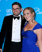 Christian Simonds and Gillian Hearst Simonds attend the 7th Annual UNICEF Snowflake Ball at Cipriani 42nd Street in New York City, New York on November 29, 2011.