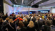 "Frankfurt Book Fair 2014, biggest of its kind in the World.<br /> ARD Forum. Reinhold Messner: ""Über Leben""."