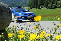 05.06.2010, AUT, Castrol Judenburg-Pölstal Rallye, im Bild ein Feature mit einem Rallye Auto, EXPA Pictures © 2010, PhotoCredit: EXPA/ S. Zangrando / SPORTIDA PHOTO AGENCY