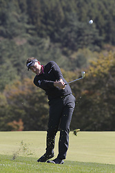 October 20, 2018 - Jeju, SOUTH KOREA - Oct 20, 2018-Jeju, South Korea-IAN POULTER of England action on the 6th green during the PGA Golf CJ Cup Nine Bridges Round 3 at Nine Bridges Golf Club in Jeju, South Korea. (Credit Image: © Ryu Seung-Il/ZUMA Wire)