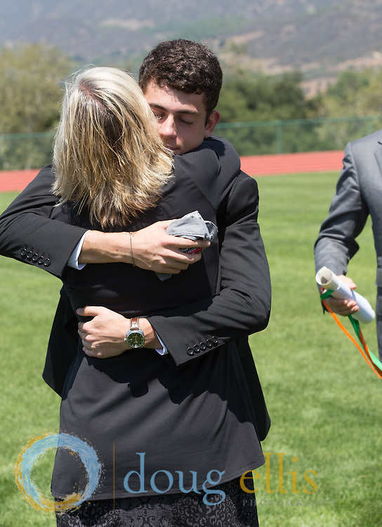 Event photography in Ojai--Thacher School Commencement 2014.