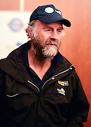 "© Licensed to London News Pictures. 04/03/2013. Heathrow, UK SIR RANULPH FIENNES. Explorer Sir Ranulph Fiennes returns to the UK after pulling out of ""The Coldest Journey"" Expedition to the Antarctic at winter due to frostbite. The Coldest Journey Press Conference today 4th March 2013 at Heathrow Airport. Photo credit : Stephen Simpson/LNP"
