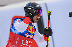25.01.2020, Streif, Kitzbühel, AUT, FIS Weltcup Ski Alpin, Abfahrt, Herren, im Bild Beat Feuz (SUI, 2. Platz) // second placed Beat Feuz of Switzerland reacts after his run in the men's downhill of FIS Ski Alpine World Cup at the Streif in Kitzbühel, Austria on 2020/01/25. EXPA Pictures © 2020, PhotoCredit: EXPA/ Erich Spiess