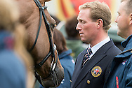 Oliver Townend (GBR) & Fenyas Elegance - First Horse Inspection - Longines FEI European Eventing Championships - Blair Castle, Scotland - 09 September 2015