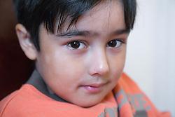 Portrait of a little boy,