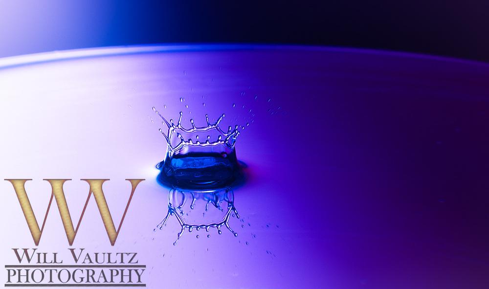High speed waterdrop impact
