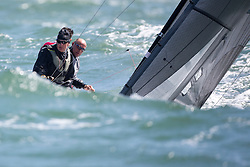 First day of the Delta Lloyd North Sea Regatta, Scheveningen, the Netherlands, Friday, 13rd of May 2016.