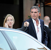 23.JUNE.2009 - LONDON<br /> <br /> CARLOS QUEIROZ THE PORTUGESE FOOTBALL MANAGER LEAVING SCOTT'S RESTAURANT, MAYFAIR WITH A BLONDE LADY.<br /> <br /> BYLINE: EDBIMAGEARCHIVE.COM<br /> <br /> *THIS IMAGE IS STRICTLY FOR UK NEWSPAPERS & MAGAZINES ONLY*<br /> *FOR WORLDWIDE SALES OR WEB USE PLEASE CONTACT EDBIMAGEARCHIVE - 0208 9545968*