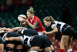 Keira Bevan of Wales<br /> <br /> Photographer Simon King/Replay Images<br /> <br /> Friendly - Wales v Barbarians - Saturday 30th November 2019 - Principality Stadium - Cardiff<br /> <br /> World Copyright © Replay Images . All rights reserved. info@replayimages.co.uk - http://replayimages.co.uk
