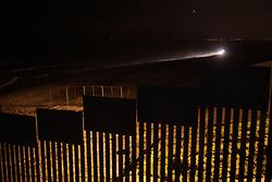 Tijuana 2015.<br /> The Border in Tijuana, patroled by US Border Police.<br /> <br /> La frontiera di Tijuana, dove il muro finisce nel mare, pattugliata dagli agenti dell'immigrazione statunitensi.