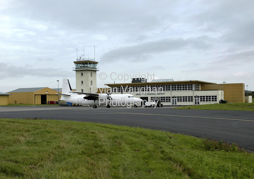 11/12/2002  File Picture.Waterford Regional Airport with a Euroceltic plane in the foreground..Picture Dylan Vaughan