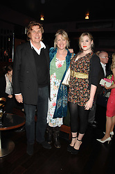 Left to right, THEO & LOUISE FENNELL and their daughter EMERALD FENNELL at a party to celebrate Imogen Lloyd Webber's her 30th birthday and the launch of her Single Girl's Guide held at Vilstead, 9 Swallow Street, London on 27th March 2007.<br /><br />NON EXCLUSIVE - WORLD RIGHTS