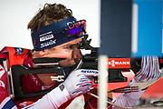 &Ouml;STERSUND, SVERIGE - 2017-12-02: Emil Hegle Svendsen under herrarnas sprint t&auml;vling under IBU World Cup Skidskytte p&aring; &Ouml;stersunds Skidstadion den 2 december 2017 i &Ouml;stersund, Sverige.<br /> Foto: Johan Axelsson/Ombrello<br /> ***BETALBILD***