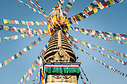 Boudhanath Temple in Kathmandu (Nepal)