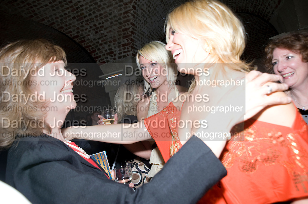 MELODIE WADDINGHAM; GEMMA HADLEY; Hannah Waddingham A little Night Music press night. Garrick Theatre and afterwards at CafŽ in The Crypt, St Martin-in-the-Field. London. 7 April 2009<br /> MELODIE WADDINGHAM; GEMMA HADLEY; Hannah Waddingham A little Night Music press night. Garrick Theatre and afterwards at Café in The Crypt, St Martin-in-the-Field. London. 7 April 2009