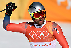 20180215 PyeongChang 2018 Olympics - Styrtløb - Christoffer Faarup