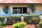 Children going to class at Mwasi Kusini Primary School in rural Moshi.