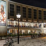 NLD/Utrecht/20171212 - Stadsschouwburg Utrecht in de avond