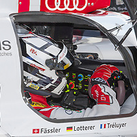 #7 Audi R18 e-tron quattro - Hybrid,  Audi Sport Team Joest (Andre Lotterer), FIAWEC 6 Hours of Silverstone 2015