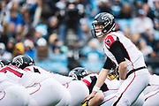 December 23, 2018. Panthers vs Falcons. Falcon's QB Matt Ryan