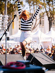 Bleached performs at Treasure Island Music Festival - 10/19/2014