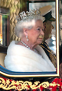 27.05.2015, London; UK: QUEEN ELIZABETH<br /> accompanied by the Duke of Edinburgh, Prince Charles and Camilla, Duchess of Cornwall attend the Opening of Parliament in Westminster.<br /> MANDATORY PHOTO CREDIT: &copy;MoD/NEWSPIX INTERNATIONAL<br /> <br /> (Failure to credit will incur a surcharge of 100% of reproduction fees)<br /> <br /> **ALL FEES PAYABLE TO: &quot;NEWSPIX  INTERNATIONAL&quot;**<br /> <br /> Newspix International, 31 Chinnery Hill, Bishop's Stortford, ENGLAND CM23 3PS<br /> Tel:+441279 324672<br /> Fax: +441279656877<br /> Mobile:  07775681153<br /> e-mail: info@newspixinternational.co.uk