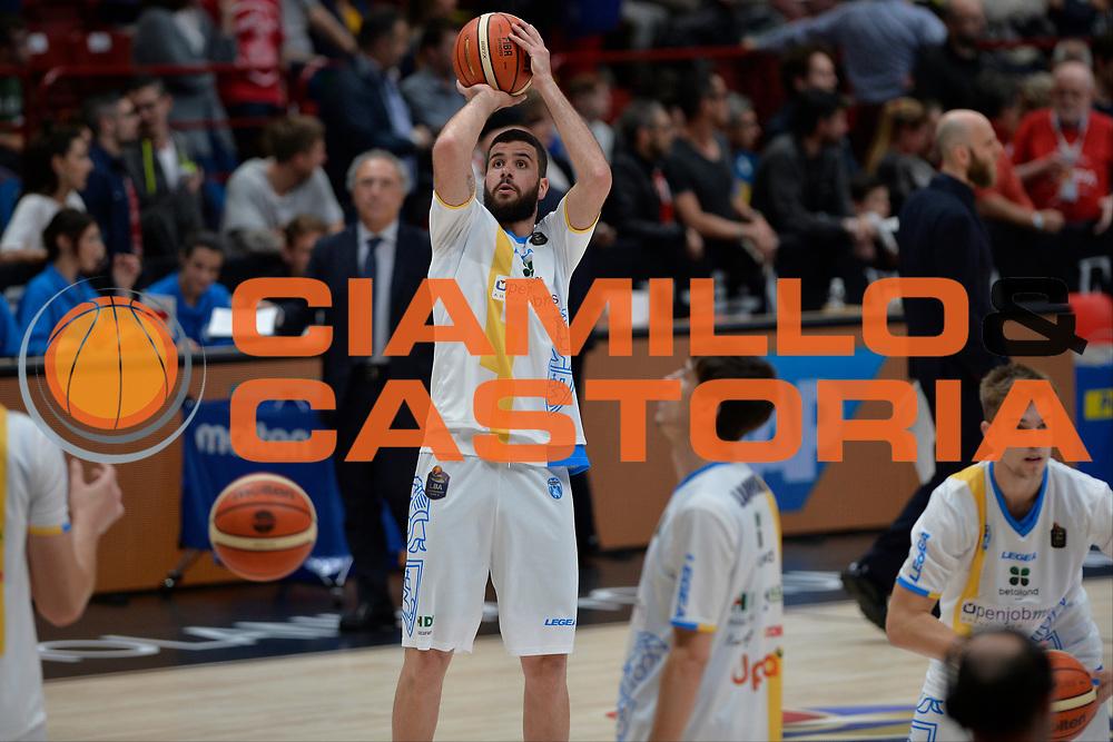 Antonio Iannuzzi<br /> Olimpia EA7 Emporio Armani Milano vs Vanoli Cremona<br /> Lega Basket Serie A 2016/2017<br /> PlayOff semifinale gara 2<br /> Milano 14/05/2017<br /> Foto Ciamillo-Castoria / I.Mancini