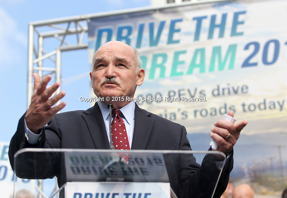 Dennis McGinn. Assistant Secretary of the Navy. Energy, Installations & Environment, speaks in Drive the Dream 2015 event at Creative Artists Agency in Los Angeles October 15, 2015.  (Photo by Ringo Chiu/PHOTOFORMULA.com)