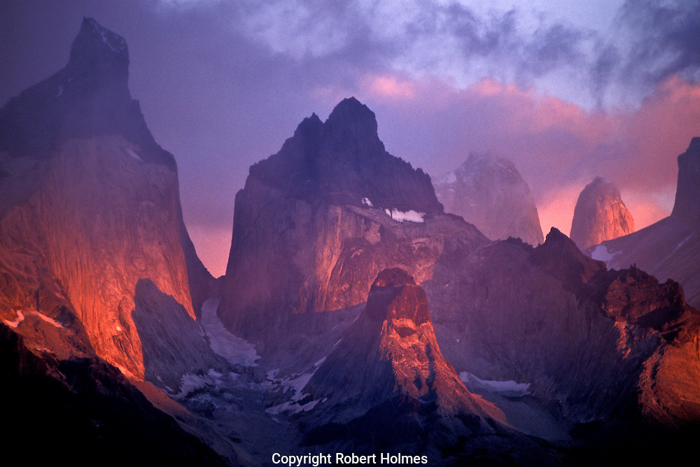 Mountains of Paine National Park, Patagonia, Chile