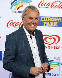 12.04.2019, Europa Park, Rust, GER, Radio Regenbogen Award 2019, im Bild Medienmann 2018, Laudator, Jörg Wontorra // during the Radio Rainbow Award at the Europa Park in Rust, Germany on 2019/04/12. EXPA Pictures © 2019, PhotoCredit: EXPA/ Eibner-Pressefoto/ Joachim Hahne<br /> <br /> *****ATTENTION - OUT of GER*****
