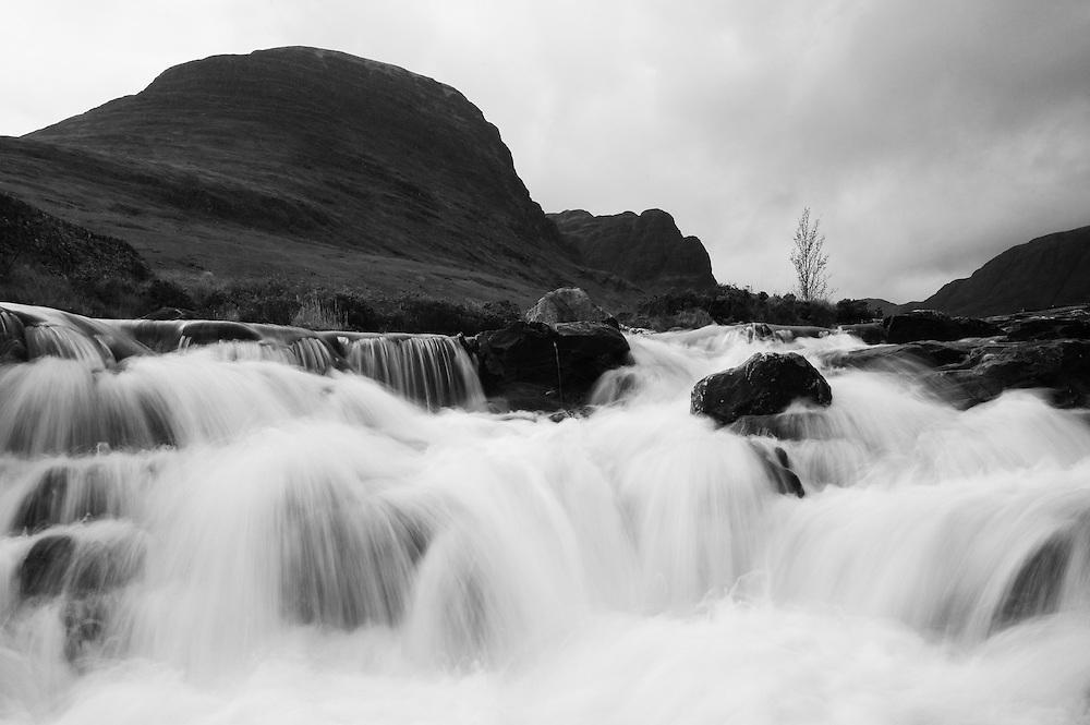 Stream below Meall Gorm, Torridon, Scotland