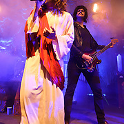 WASHINGTON, DC - October 31st, 2011 - Brendon Urie and Dallon Weekes of Panic! at the Disco perform in costume during their Halloween show at the 9:30 Club in Washington, D.C. (Photo by Kyle Gustafson/For The Washington Post)