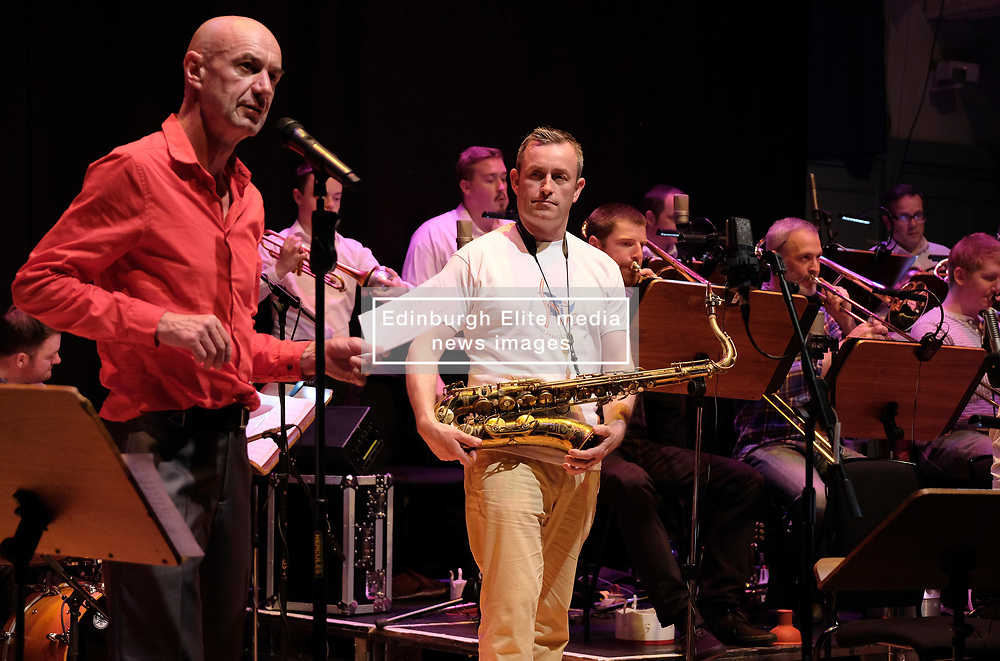 Edinburgh International Film Festival, Friday 23rd June 2017<br /> <br /> TOMMY SMITH RECEPTION with the Scottish National Jazz Orchestra<br /> <br /> Tam Dean Burn and Tommy Smith<br /> <br /> (c) Alex Todd | Edinburgh Elite media