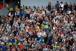 Swedish supporters<br /> FEI European Driessage Championships - Goteborg 2017 <br /> © Hippo Foto - Dirk Caremans<br /> 26/08/2017,