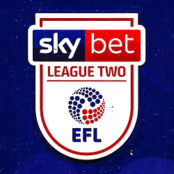 Sky Bet EFL League Two branding - Mandatory by-line: Ryan Crockett/JMP - 18/03/2019 - FOOTBALL - One Call Stadium - Mansfield, England - Mansfield Town v Lincoln City - Sky Bet League Two