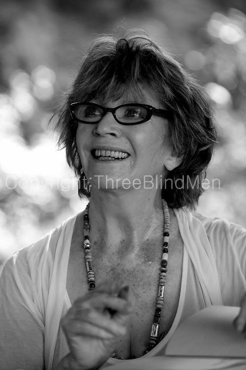 Edna O Brien at the Galle Literary Festival