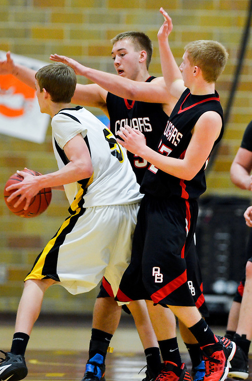 Images from the Ada-Borup vs. Norman County East basketball playoff game.
