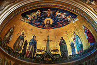 """The Arch Papal Basilica of St. John Lateran Mosaic Apse - Rome""…<br />
