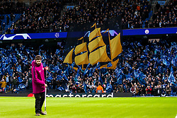 Manchester City fans wave flags - Mandatory by-line: Robbie Stephenson/JMP - 12/03/2019 - FOOTBALL - Etihad Stadium - Manchester, England - Manchester City v Schalke - UEFA Champions League, Round of 16, 2nd leg