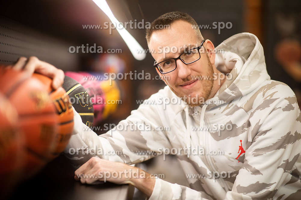 Portrait of Urban Gorjanc, former basketball player, when retired after treatment of Marfan syndrome, on December 6, 2019 in Grosbasket, Ljubljana, Slovenia. Photo by Vid Ponikvar/ Sportida