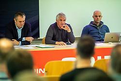 Bojan Prasnikar at General assembly of SPINS, on December 2, 2019 in Ljubljana, Slovenia. Photo by Vid Ponikvar/ Sportida