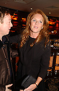 The Duchess of York. The after show party following the UK Premiere of 'The White Countess', at China Tang, Park Lane London. March 19  2006. London. ONE TIME USE ONLY - DO NOT ARCHIVE  © Copyright Photograph by Dafydd Jones 66 Stockwell Park Rd. London SW9 0DA Tel 020 7733 0108 www.dafjones.com