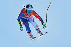 17.02.2018, Jeongseon Alpine Centre, Jeongseon, KOR, PyeongChang 2018, Ski Alpin, Damen, Super G, im Bild Tessa Worley (FRA) // Tessa Worley of France in action during ladie's SuperG of the Pyeongchang 2018 Winter Olympic Games at the Jeongseon Alpine Centre in Jeongseon, South Korea on 2018/02/17. EXPA Pictures © 2018, PhotoCredit: EXPA/ Johann Groder